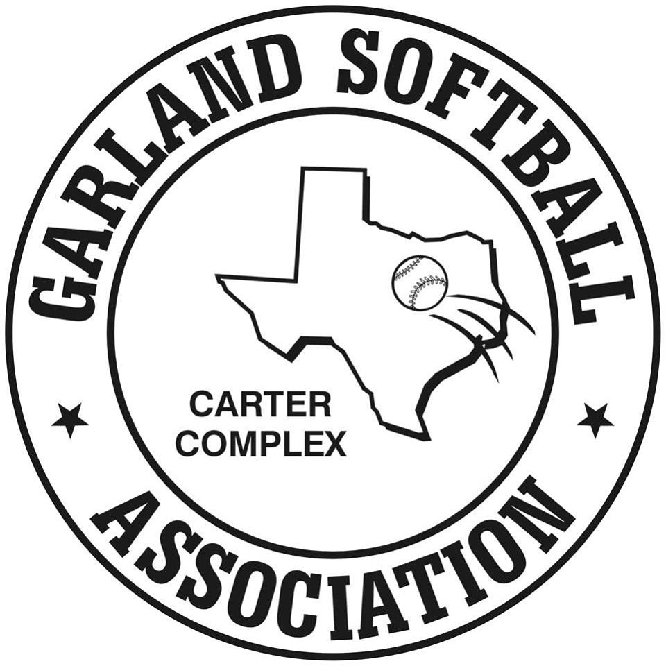 Garland Softball Association logo